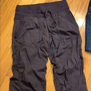 Purple gray studio pants